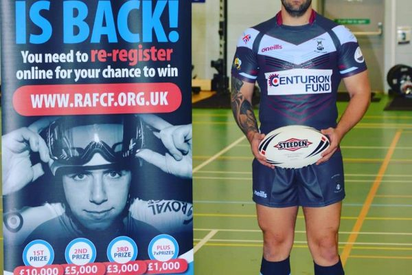 RAF Regt Rugby Strip