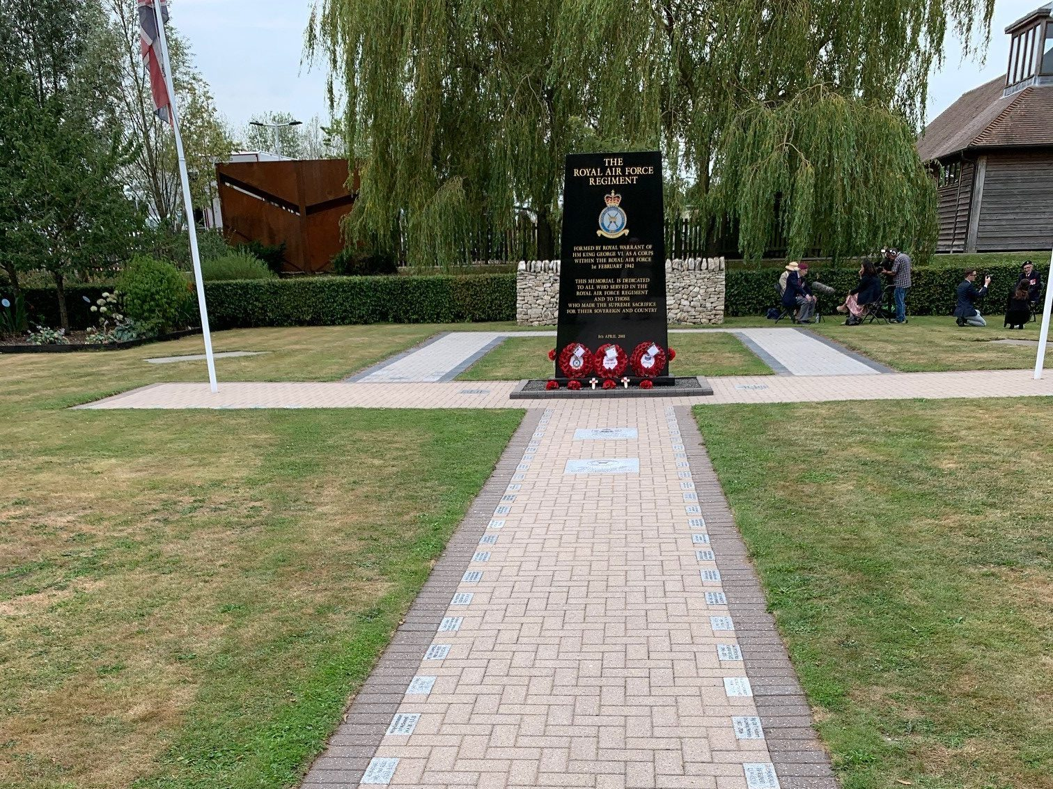Corps Memorial Garden update